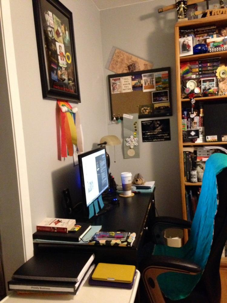 Piper Vaughn Work Space