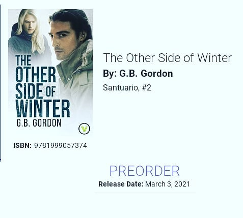 """""""The Other Side of Winter"""" is now ready for pre-order as ebook.(If you already own it, there's no need to buy it again. The changes are mostly cosmetic.)Paperback to follow later next month.#Santuario2#TheOtherSideofWinter"""
